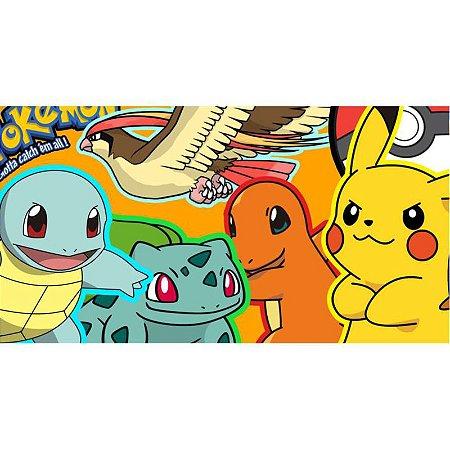 Painel em Lona Pokemon 01