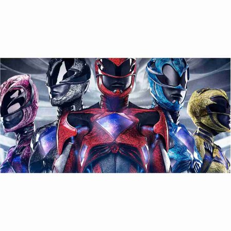 Painel em Lona Power Rangers 01