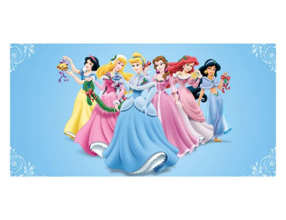 Painel em Lona Princesas Disney 01