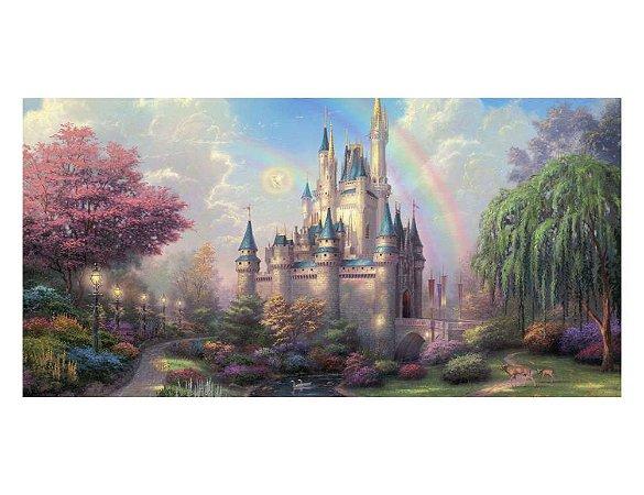 Painel em Lona Princesas Disney 06