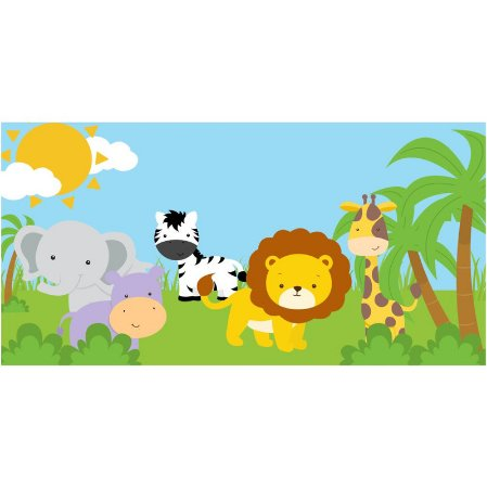 Painel em Lona Safari 01