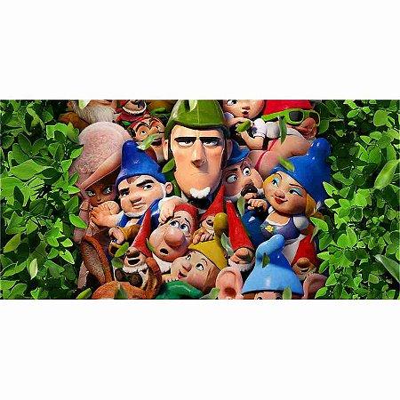 Painel em Lona Sherlock Gnomes 01