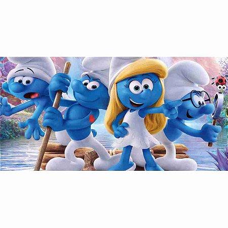 Painel em Lona Os Smurfs 04