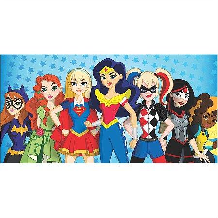 Painel em Lona Super Hero Girls 01