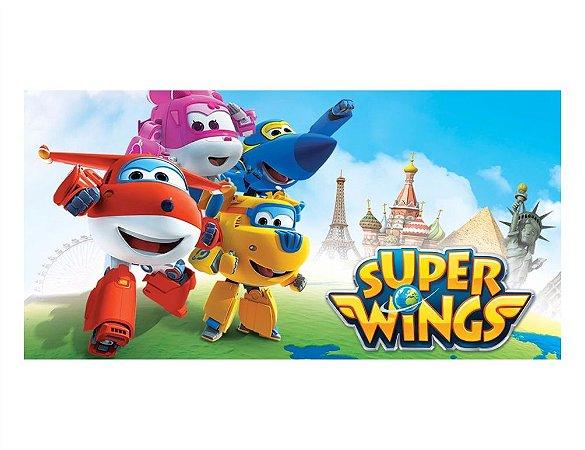 Painel em Lona Super Wings 03