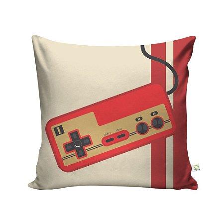 Capa de Almofada Controle Nintendo Family Computer Direito