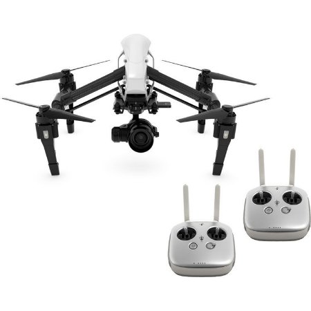DJI Inspire 1 RAW + Zenmuse X5R c/ Lente + Dual Transmissor  -  Pronto para Voar