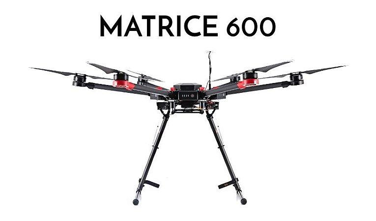 DJI Matrice 600 Hexacóptero Uso Profissional Payload até 6kg - Pronto para Voar
