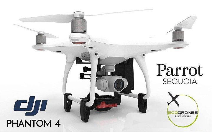 Serviço de integração do Sensor Multiespectral Parrot Sequoia - DJI Phantom 3, Phantom 4 / 4 PRO, DJI Mavic e 3DR Solo