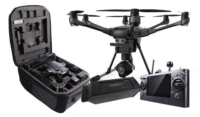 Drone Yuneec Typhoon H RealSense + 2 Baterias + Mochila + Wizard - Pronto para Voar