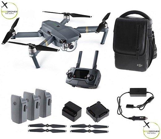 DJI MAVIC Pro Fly More Combo - Completo de Acessórios e Pronto para voar!