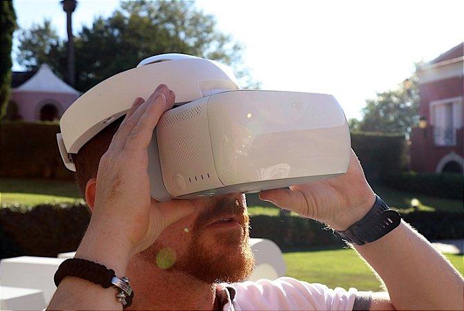 Dji Goggles - Óculos para voo FPV - Pronta Entrega em SP - Telemetria completa, pilotagem por headtracking e diversos modos de voo!