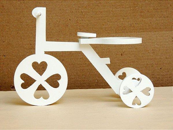 Bicicleta em Madeira de Mesa
