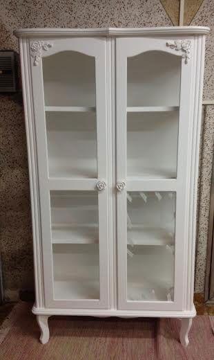 Cristaleira de 2 Portas (sem vidro)