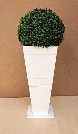 Vaso  G de Chão de 45 cm de Altura Com Bucho Grande
