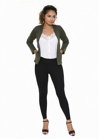 Calça legging coleteria skinny preta
