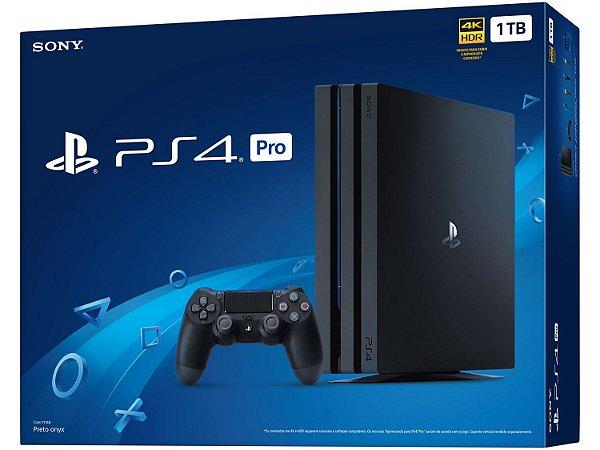 Playstation 4 Pro 1TB (CUH-7006B) Preto