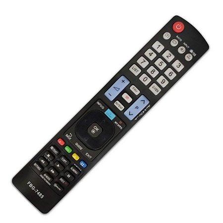 Controle Compatível Com Tv LG Led Lcd 3d Smart Akb73756510