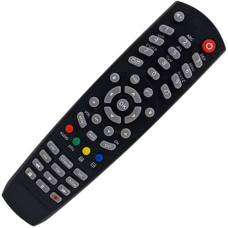 Controle Remoto Receptor Tocombox Life Full HD