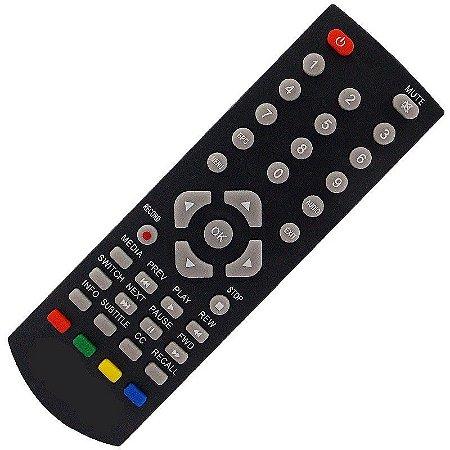 Controle Remoto Conversor Digital Imagevox DF00 / ADV-ISDBT001