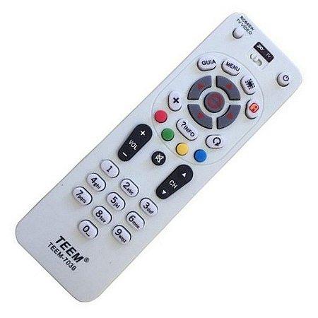 Controle SKY Livre E Digital Universal RC64SW