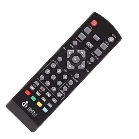Controle Remoto Conversor Inforkit  ITV 100 / 200 / 400