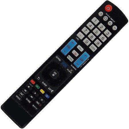 Controle Remoto  TV LG  Smart 3d Função My Apps  AKB73615319 /  AKB73615320 / AKB73756527