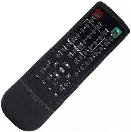 Controle Remoto Dvd Mondial  D07 D-07