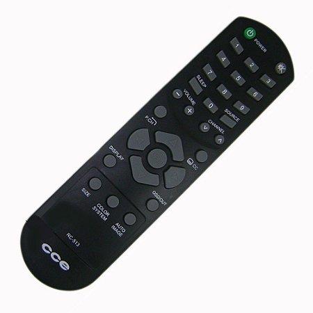Controle Remoto  TV LED / LCD CCE CR-513 / TL14LD/ TL24LED/ TL24LD