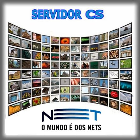Servidor CS   NET HD  Plano 60 Dias    R$36,89
