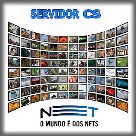 Servidor CS   NET HD  Plano 12 meses    R$209,89