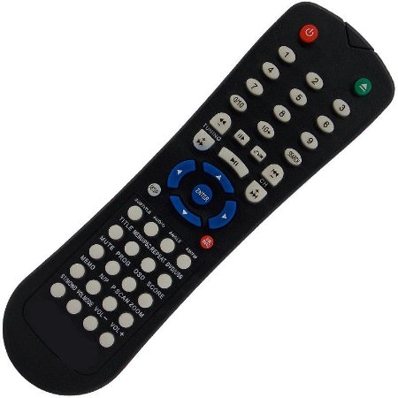 Controle Remoto Home Theater Lenoxx RC-204 / RC-214A / HT-7000 / HT-725 / HT-726A / HT-727