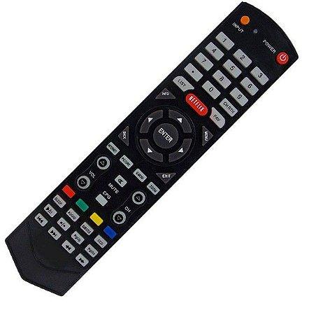 Controle Remoto TV LCD / LED STI SEMP Toshiba CT-6560 /  CT-6390 / LE1958W / LE2458F