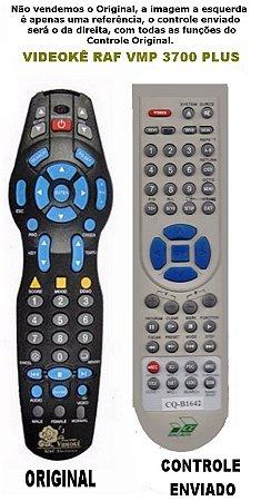 Controle Remoto DVD Videoke Raf Eletronics VMP-3700 PLus