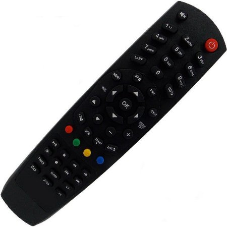 Controle Remoto Receptor Duosat Play Hd