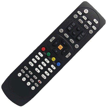 Controle Remoto Receptor Azamerica S1007+ Plus HD