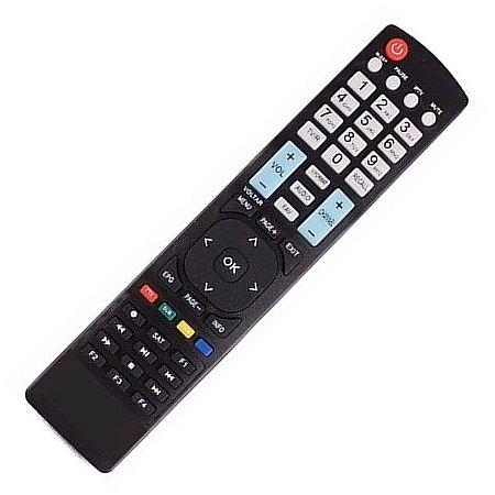 Controle Remoto Receptor Cinebox Optimo+ Plus  HD