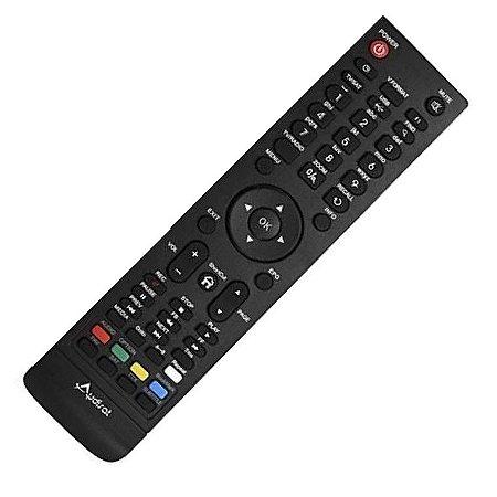 Controle Remoto Receptor Audisat A5  HD