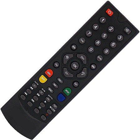 Controle Remoto Receptor Globalsat GS280 HD