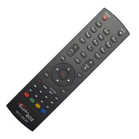 Controle Remoto Receptor Superbox  Benzo HD