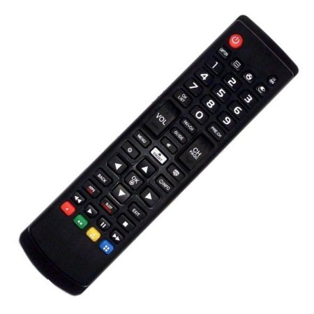 Controle Remoto Universal TV LED / LCD Samsung e LG com Função Smart / Futebol / 3D