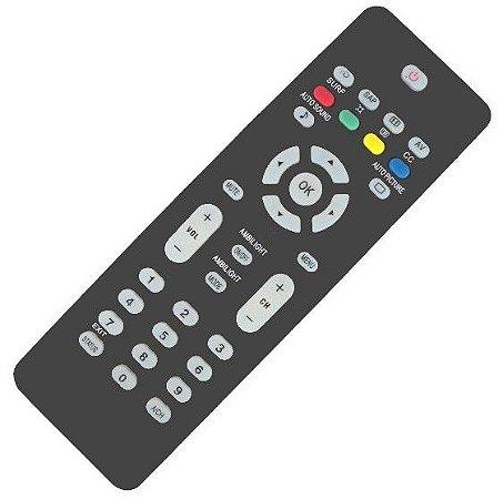 Controle Remoto TV LCD / LED Philips RC2023606/01 / 32PFL3322 / 32PFL5332 / 32PFL7342 / 42PFL3322