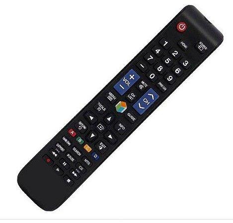 Controle Remoto Para Samsung Led Smart 3D  para Serie 5-6-7-8