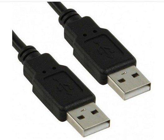 Cabo USB 2.0 Macho X Macho com 2 Metros