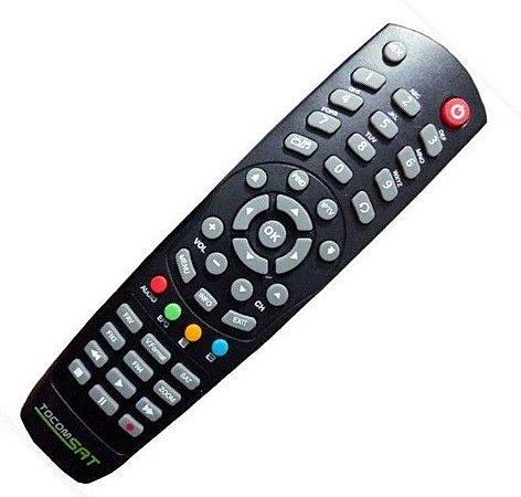 Controle Remoto Receptor Tocomsat Life / Lite HD / Duplo Lite HD / Duplo HD3 / Duplo HD Plus / Combate S