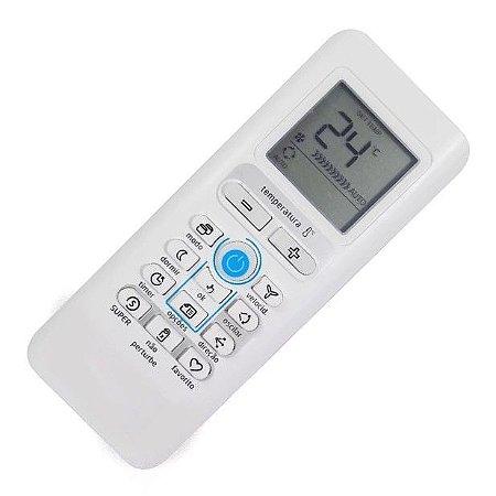 Controle Remoto Para Ar Condicionado Springer Midea Comfee