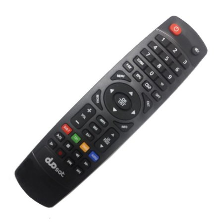 Controle Remoto Receptor Duosat Switch On UHD 4K Wi-Fi
