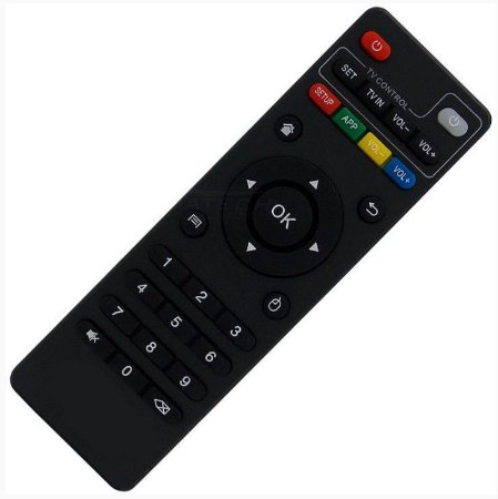 Controle Remoto TV Box MXQ  / Pro 4K H96  / Pro Plus / X96 / X96 Mini / T95M / T95N