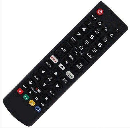 Controle Remoto Tv LG Smart Linha LJ / UJ Akb75095315 netflix Azazon