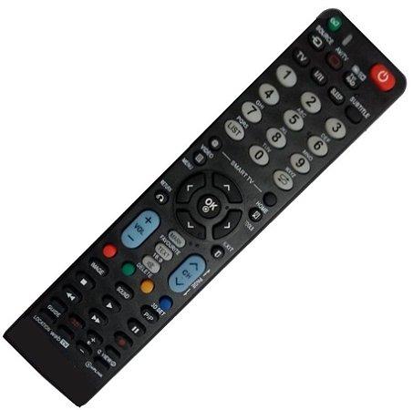 Controle Remoto Universal Para TV LG  - LCD e Plasma Smart - Compatível com mais de 20 Modelos